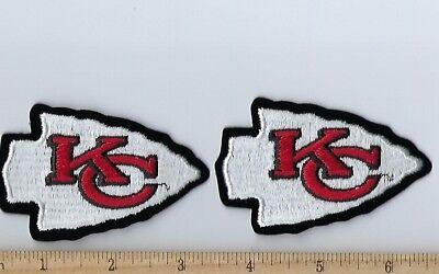 Set of 2 Kansas City KC Chiefs Patch 3