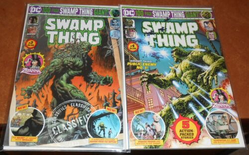 100 PAGE GIANT SWAMP THING #1 2 3 4 (NM-) FULL SET 2020 DC COMICS MARK RUSSELL