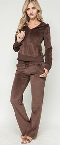 Womens Velour Tracksuit Jacket Pants Hoodie New Colors Jogging Yoga Sweatsuit