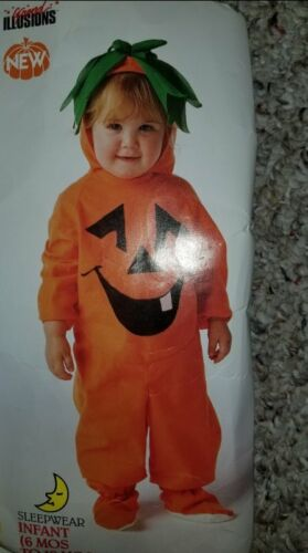THE LIL' PUMPKIN Infant Halloween Costume Fits 6-18 months NEW