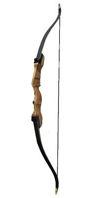 "Fleetwood Archery Monarch Takedown Recurve Bow 62"" Right Hand 55#"