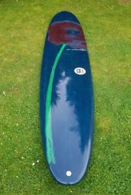 9'6 Resin Tint Longboard Surfboard