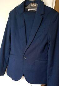 9-10yrs 2pc H&M Navy Blue suit