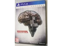 The evil within Special edition for PlayStation 4