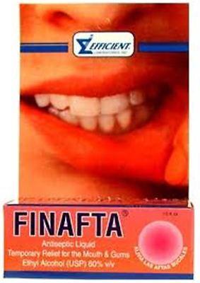 Finafta Liquid for Cold Sores 0 5 oz