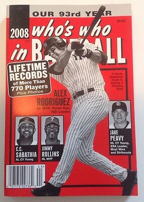 'Who's Who in Baseball' Magazine 2008