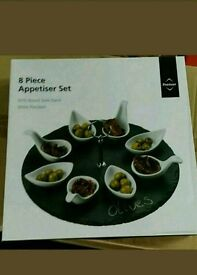 Premier Housewares 9-Piece Appetiser Gift Set