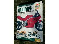 Triumph Daytona Speed Triple t595 t509 Haynes Manual
