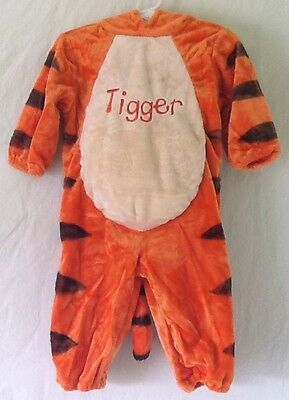 Disney Baby Tigger Halloween Costume Size 12 Months Boys Or Girls - Baby Tigger Halloween Costume