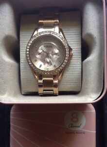 ROSE GOLD WOMENS FOSSIL WATCH Kelmscott Armadale Area Preview