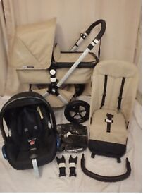 Bugaboo cameleon with car seat hardly used