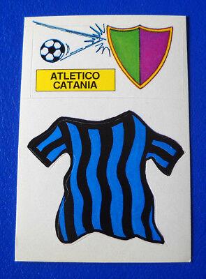 FIGURINA EUROFLASH CALCIO 1988 - SCUDETTO/MAGLIA ATLETICO CATANIA - new image