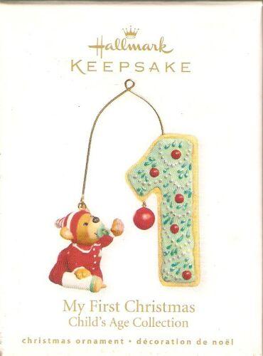 2010 Hallmark  My First Christmas   Child