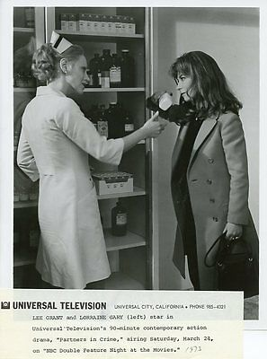 Lorraine Gary As Nurse Lee Grant Partners In Crime Original 1973 Nbc Tv Photo