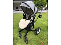 Silver Cross Surf Eton Grey Pushchairs Pram Single Seat Stroller Limited Edition