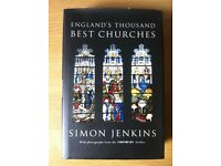 Brand new Travel guide book 'ENGLAND'S THOUSAND BEST CHURCHES'