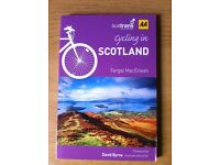 sustrans official book with maps and tours 'CYCLING IN SCOTLAND'