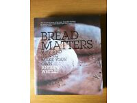 Brand new cooking baking book 'BREAD MATTERS'