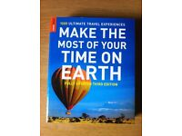 Brand new Travel guide book 'MAKE THE MOST OF YOUR TIME ON EARTH'