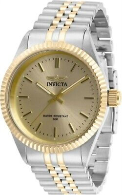 Invicta Men's Watch Specialty Quartz Champagne Dial Two Tone Bracelet 29382