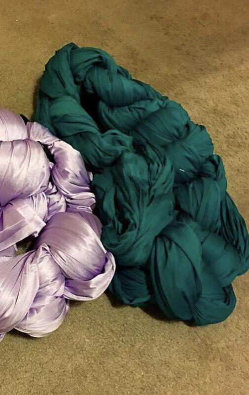 Aerial Silks Jade 30 Yards Aerial Essentials Interlock Fabric