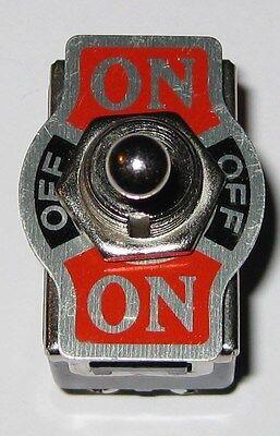 On Off On Toggle Switch - Dpdt - 125v 10a - 250v 6a - 12 Hole Mount