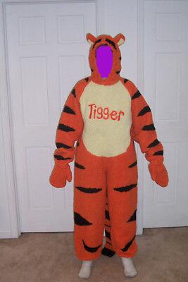 ADULT DISNEY TIGGER HALLOWEEN COSTUME SIZE - Tigger Halloween Costume Disney