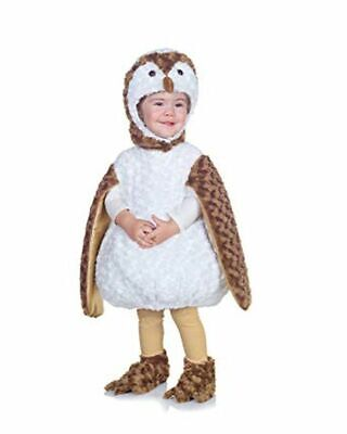 UNDERWRAPS BELLY BABIES WHITE BARN OWL KID'S HALLOWEEN COSTUME ASST SIZES NEW  - Kids Owl Costume