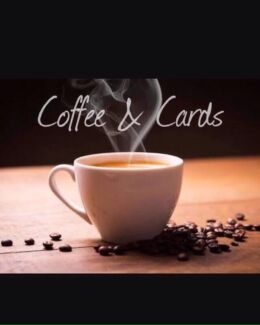 Coffee & cards, stampin' Up! card making, craft