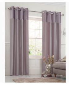Mauve next curtains 90x90 like new