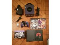 Nintendo Gamecube With 2 Controllers and 3 Games