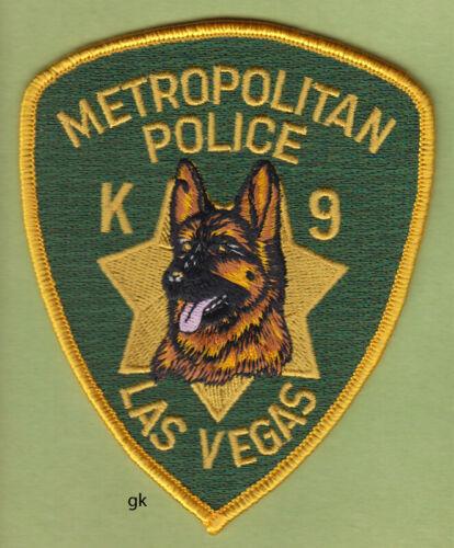 LAS VEGAS NEVADA METROPOLITAN K9 POLICE SHOULDER  PATCH