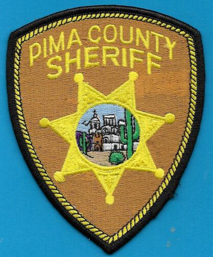 PIMA COUNTY ARIZONA AZ SHERIFF DEPT PATCH CHURCH (FIRE) PC SO SD MISSION EMBLEM