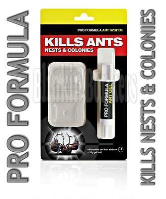 Ant-killer (INDOOR OUTDOOR HOME ANT KILLER GEL POISON BAIT STATION TRAP KILLER DESTROY NEST)