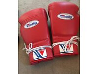 Winning Boxing Gloves 140z used 3 times