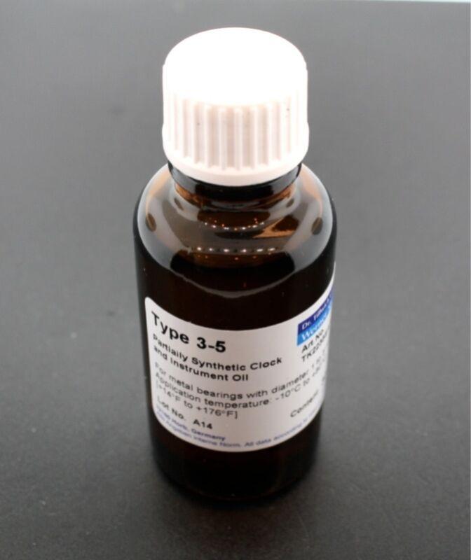 Etsyntha Type 3.5 Clock and Instrument Oil 30 ml bottle