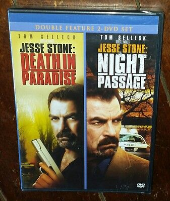 Jesse Stone Double Feature  Death In Paradise Night Passage  Dvd  2006
