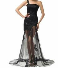 STUNNING BLACK EVENING DRESS  SIZE 6-8 Gladstone Park Hume Area Preview