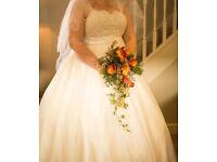 Wedding dress (size 22/24)