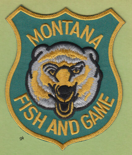 MONTANA FISH AND GAME POLICE SHOULDER PATCH