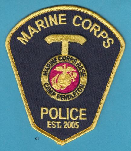 CAMP PENDLETON CALIFORNIA MARINE CORPS BASE POLICE SHOULDER PATCH