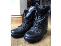 Black Altberg Boots.