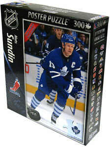MATS SUNDIN .... TOP DOG puzzle .... with POSTER included