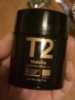 T2 Matcha green tea powder - new