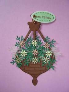 LARGE HANGING BASKET DIE CUTS