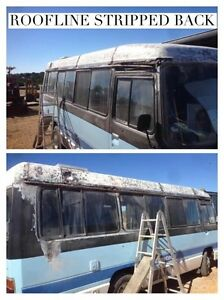 LOW Kms - 1984 Toyota Coaster Motorhome - Unfinished Tiny home project Altona Meadows Hobsons Bay Area Preview