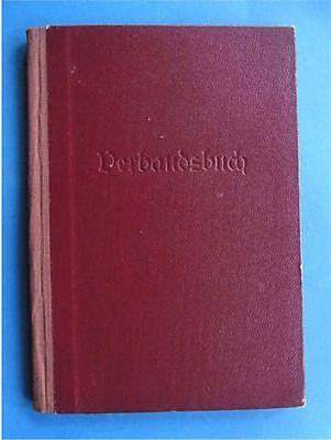 Altes Verbandsbuch Reichsinnung des Fleischerhandwerks