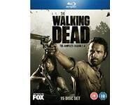 The walking dead season 1-4 blu-ray