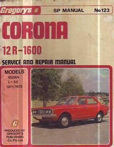 TOYOTA CORONA 12R 1970-73    WORKSHOP REPAIR   SERVICE MANUAL Sefton Bankstown Area Preview