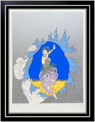 ERTE Serigraph Original SIGNED Art Deco Coming of Spring Rare Set Costume Design